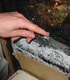 moisissure odeur de moisi tache noiratre d gat d 39 eau infiltration d 39 eau. Black Bedroom Furniture Sets. Home Design Ideas